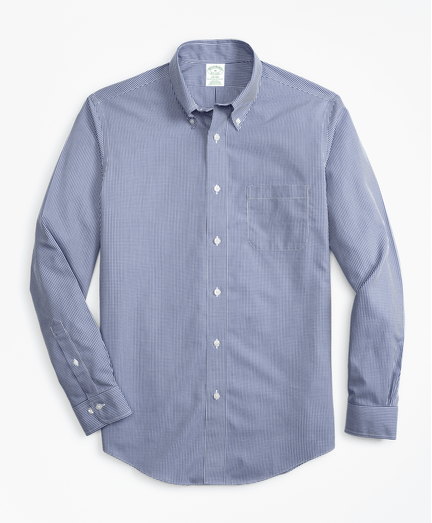 Camisa-Sport-Non-Iron-Milano-Fit-de-Cuadros-Micro-Azul-Obscuro