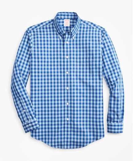 Camisa-Sport-Bold-Non-Iron-Madison-Fit-de-Cuadros-Azul-Claro