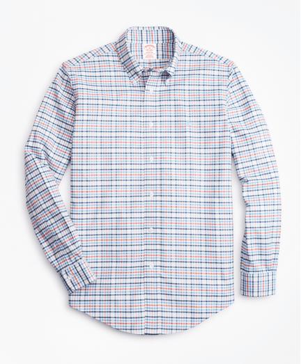 Camisa-Sport-Multi-Check-Non-Iron-Madison-Fit-de-Cuadros-Multicolor