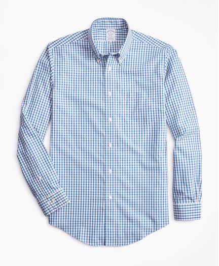 Camisa-Sport-Double-Check-Non-Iron-Regent-Fit-de-Cuadros