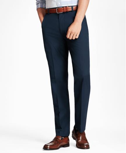 Pantalon-Clark-Fit-de-Popelina-de-Algodon-Supima®-Azul-Obscuro