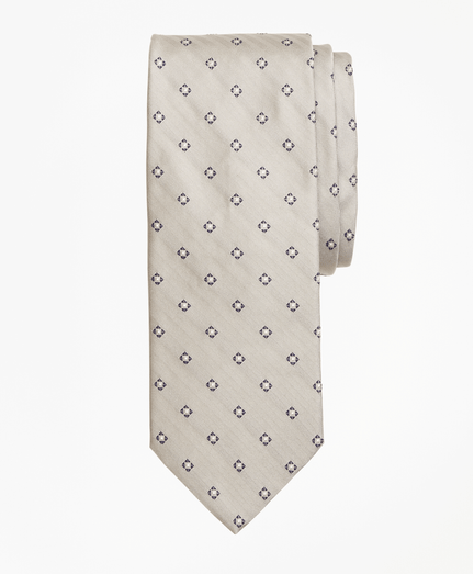 Corbata-Box-Diamond-Gris