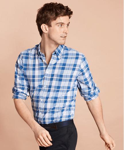 Camisa-Sport-de-Algodon-Madras