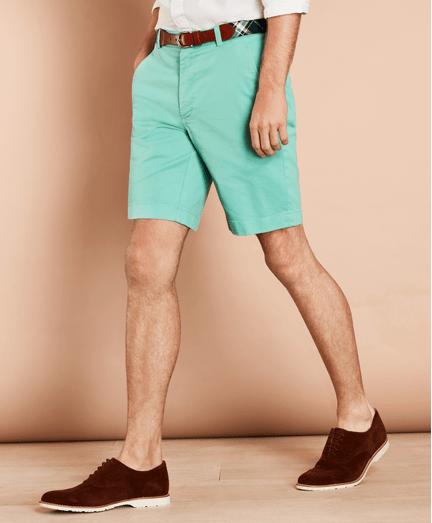 Shorts-de-Twill-de-Algodon-Stretch
