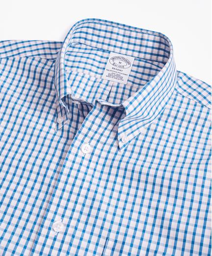Camisa-Sport-Double-Check-Non-Iron-Regent-Fit-de-Cuadros-Azul