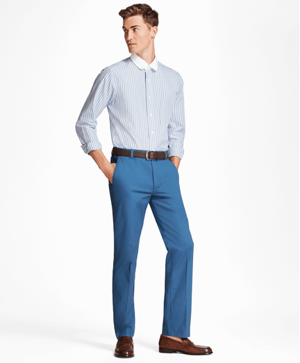 Pantalon-Chino-Clark-Fit-de-Popelina-de-Algodon-Supima®-Stretch-Azul-Obscuro
