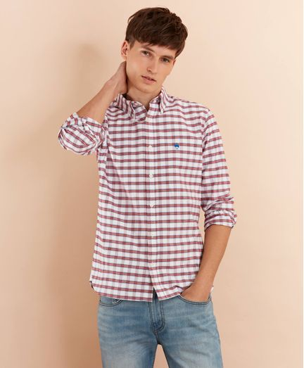 Camisa-Sport-Oxford-de-Cuadros