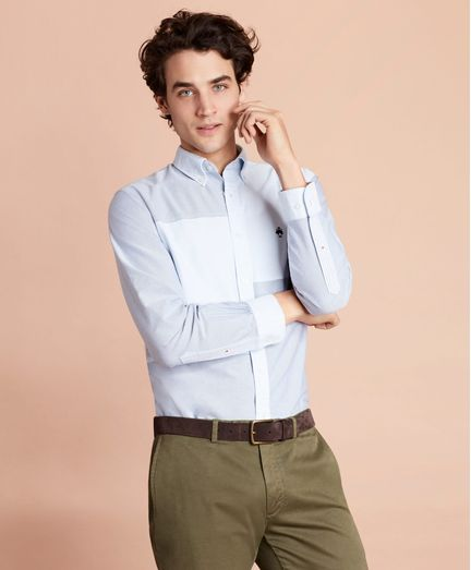 Camisa-Sport-Oxford-Patchwork