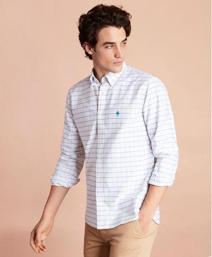 Camisa Sport Oxford de Cuadros