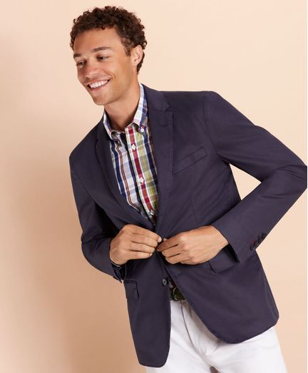 Saco-Sport-de-algodon-stretch-Brooks-Brothers