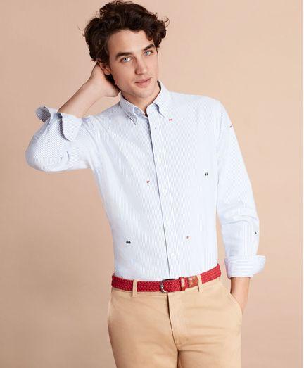 Camisa-Sport-Oxford-bordada-Brooks-Brothers