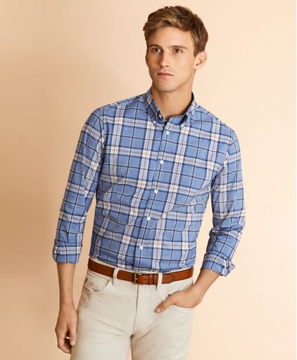 Camisa-de-Popelina-a-Cuadros-Performance-Series-Brooks-Brothers