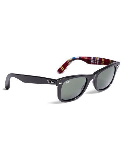 Gafas-De-Sol-Wayfarer-Ray-Ban-Con-Madras-Brooks-Brothers