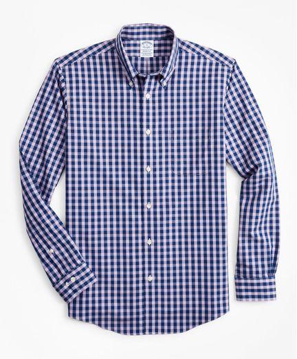 Camisa-Sport-Non-Iron-Regent-Fit-De-Cuadros-Brooks-Brothers
