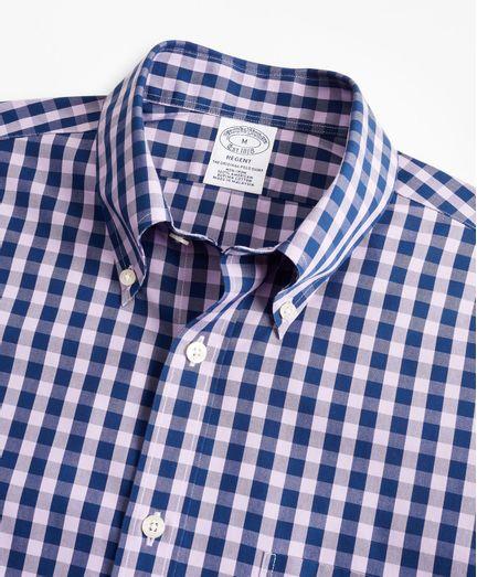 Camisa-Sport--Non-Iron-Regent-Fit-De-Manga-Corta-Brooks-Brothers