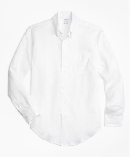 Camisa-Sport-de-Lino-Irlandes-Regent-Fit-Brooks-Brothers