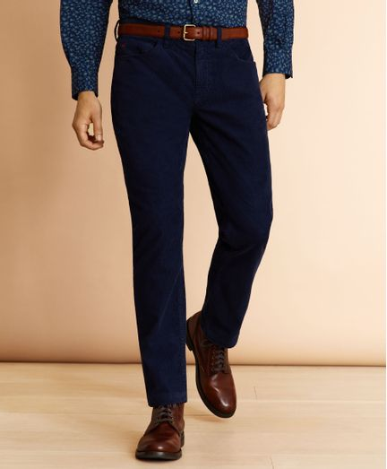 Pantalon-Casual-Red-Fleece-Regular-Fit-Brooks-Brothers
