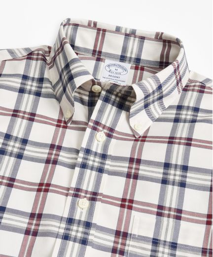 Camisa-Sport-Tartan-Non-Iron-Algodon-Supima®-Regent--Fitted--Brooks-Brothers