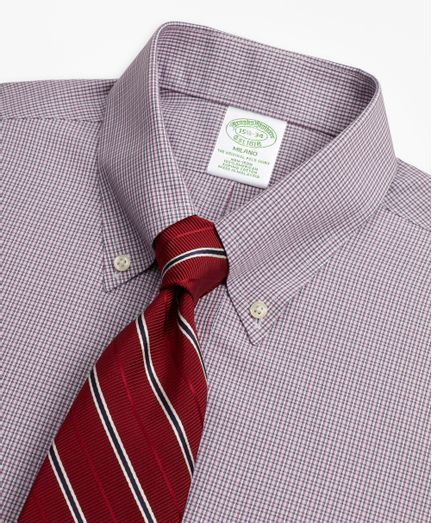 Camisa-de-Vestir-Non-Iron-Algodon-Supima®-Cuello-Button-Down-Milano--Slim--Brooks-Brothers