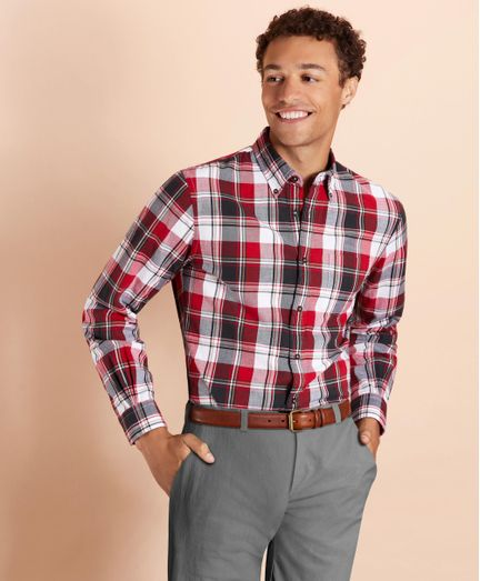 Camisa-Sport-Franela-Algodon-Red-Fleece-Brooks-Brothers