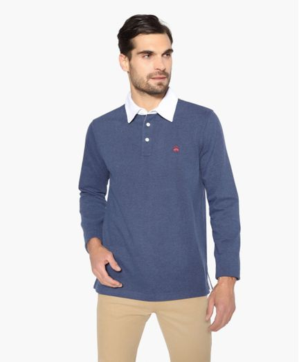 Camiseta-Rugby-de-Algodon-Brooks-Brothers