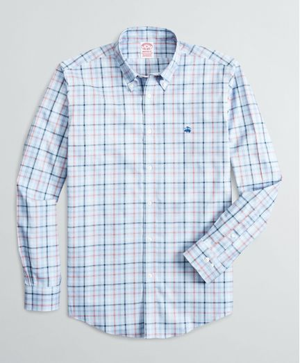 Camisa-Sport-Pinpoint-Non-Iron-Algodon-Supima®-Madison--Classic--Brooks-Brothers