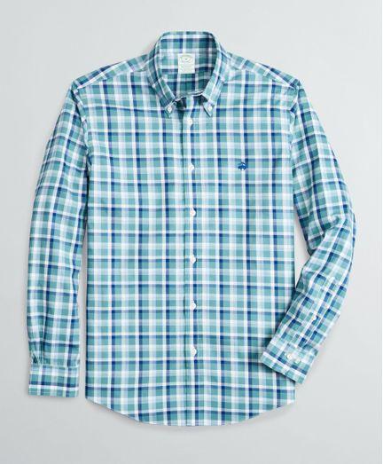 Camisa-Sport-Pinpoint-Non-Iron-Algodon-Supima®-Milano--Slim--Brooks-Brothers