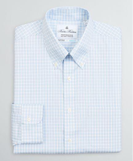 Camisa-de-Vestir-Non-Iron-con-COOLMAX®-Algodon-Supima®-Cuello-Button-Down-Regent--Fitted--Brooks-Brothers