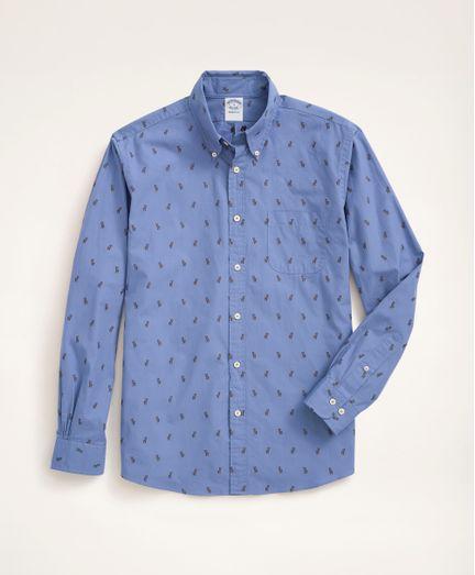 Camisa-Sport-de-Algodon-Regent--Fitted--Brooks-Brothers