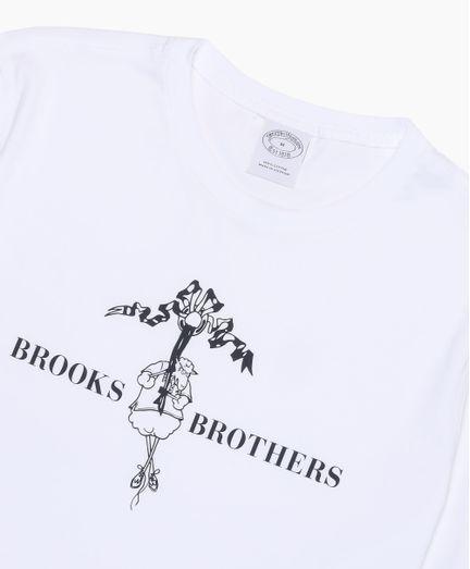 Playera-de-Algodon-con-Henry-la-Oveja-Brooks-Brothers